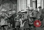 Image of US Army troops with French children in World War 1 France, 1918, second 11 stock footage video 65675029238
