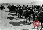 Image of British Colonial Indian mounted machine gun battery Mesopotamia, 1917, second 11 stock footage video 65675029246