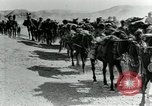 Image of British Colonial Indian mounted machine gun battery Mesopotamia, 1917, second 12 stock footage video 65675029246