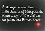 Image of British troops in a defensive position Mesopotamia, 1917, second 3 stock footage video 65675029249