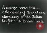 Image of British troops in a defensive position Mesopotamia, 1917, second 4 stock footage video 65675029249