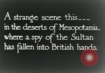 Image of British troops in a defensive position Mesopotamia, 1917, second 5 stock footage video 65675029249