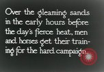 Image of British cavalry in training maneuvers Cairo Egypt, 1917, second 12 stock footage video 65675029251