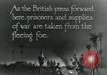 Image of Turkish prisoners of war march under British guard Palestine, 1918, second 3 stock footage video 65675029253
