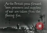 Image of Turkish prisoners of war march under British guard Palestine, 1918, second 4 stock footage video 65675029253