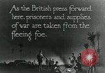 Image of Turkish prisoners of war march under British guard Palestine, 1918, second 6 stock footage video 65675029253