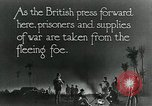 Image of Turkish prisoners of war march under British guard Palestine, 1918, second 8 stock footage video 65675029253
