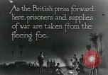 Image of Turkish prisoners of war march under British guard Palestine, 1918, second 9 stock footage video 65675029253