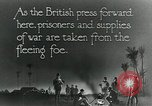 Image of Turkish prisoners of war march under British guard Palestine, 1918, second 10 stock footage video 65675029253