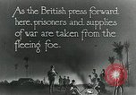 Image of Turkish prisoners of war march under British guard Palestine, 1918, second 11 stock footage video 65675029253