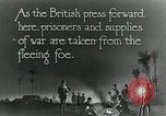 Image of Turkish prisoners of war march under British guard Palestine, 1918, second 12 stock footage video 65675029253