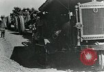 Image of British howitzers pulled by tractor Palestine, 1918, second 10 stock footage video 65675029255