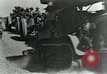 Image of British howitzers pulled by tractor Palestine, 1918, second 12 stock footage video 65675029255