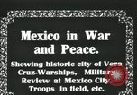 Image of Mexican Federal Army forces at railroad station Veracruz Mexico, 1914, second 3 stock footage video 65675029258