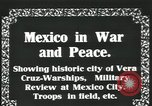 Image of Mexican Federal Army forces at railroad station Veracruz Mexico, 1914, second 4 stock footage video 65675029258