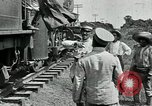 Image of Mexican Federal Army troops departing Mexico City along railroad Mexico City Mexico, 1914, second 11 stock footage video 65675029259