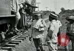 Image of Mexican Federal Army troops departing Mexico City along railroad Mexico City Mexico, 1914, second 12 stock footage video 65675029259