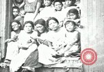 Image of Mexican women and children of Federal Soldiers Mexico City Mexico, 1914, second 5 stock footage video 65675029260