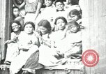 Image of Mexican women and children of Federal Soldiers Mexico City Mexico, 1914, second 6 stock footage video 65675029260
