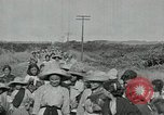 Image of Mexican women and children of Federal Soldiers Mexico City Mexico, 1914, second 10 stock footage video 65675029260