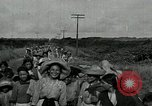 Image of Mexican women and children of Federal Soldiers Mexico City Mexico, 1914, second 12 stock footage video 65675029260