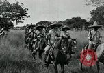 Image of Mexican Federal cavalry and army forces march on plains Veracruz Mexico, 1914, second 3 stock footage video 65675029261