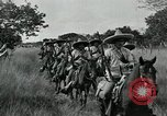 Image of Mexican Federal cavalry and army forces march on plains Veracruz Mexico, 1914, second 4 stock footage video 65675029261