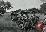 Image of Mexican Federal cavalry and army forces march on plains Veracruz Mexico, 1914, second 5 stock footage video 65675029261