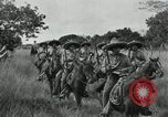 Image of Mexican Federal cavalry and army forces march on plains Veracruz Mexico, 1914, second 8 stock footage video 65675029261