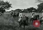 Image of Mexican Federal cavalry and army forces march on plains Veracruz Mexico, 1914, second 10 stock footage video 65675029261
