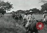 Image of Mexican Federal cavalry and army forces march on plains Veracruz Mexico, 1914, second 11 stock footage video 65675029261