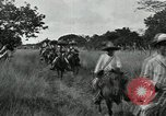 Image of Mexican Federal cavalry and army forces march on plains Veracruz Mexico, 1914, second 12 stock footage video 65675029261