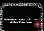 Image of Veracruz during Mexican Revolution Veracruz Mexico, 1914, second 8 stock footage video 65675029262