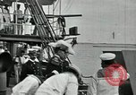 Image of Mexican federal warships at anchor during Mexican Revolution Veracruz Mexico, 1914, second 5 stock footage video 65675029267