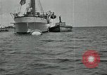 Image of Mexican federal warships at anchor during Mexican Revolution Veracruz Mexico, 1914, second 9 stock footage video 65675029267
