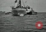 Image of Mexican federal warships at anchor during Mexican Revolution Veracruz Mexico, 1914, second 10 stock footage video 65675029267