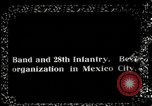 Image of Mexican Federal 28th infantry troops Mexico City Mexico, 1914, second 3 stock footage video 65675029269