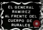 Image of Mexican Rurales Mexico City Mexico, 1914, second 5 stock footage video 65675029270