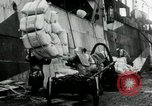 Image of Unloading flour bags from freighter  Archangel Russia, 1918, second 3 stock footage video 65675029275