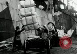 Image of Unloading flour bags from freighter  Archangel Russia, 1918, second 5 stock footage video 65675029275