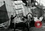 Image of Unloading flour bags from freighter  Archangel Russia, 1918, second 7 stock footage video 65675029275