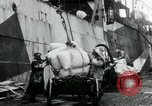 Image of Unloading flour bags from freighter  Archangel Russia, 1918, second 12 stock footage video 65675029275