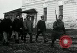 Image of Smiling Bolshevik prisoners Archangel Russia, 1918, second 5 stock footage video 65675029278