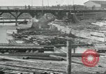 Image of Sawmill operations Arkhangelsk Russia, 1918, second 4 stock footage video 65675029279