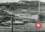 Image of Sawmill operations Arkhangelsk Russia, 1918, second 5 stock footage video 65675029279