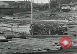Image of Sawmill operations Arkhangelsk Russia, 1918, second 6 stock footage video 65675029279