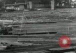 Image of Sawmill operations Arkhangelsk Russia, 1918, second 8 stock footage video 65675029279