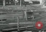 Image of Sawmill operations Arkhangelsk Russia, 1918, second 10 stock footage video 65675029279