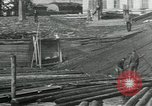 Image of Sawmill operations Arkhangelsk Russia, 1918, second 11 stock footage video 65675029279