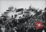Image of Nazi U-Boats Lorient Germany, 1943, second 8 stock footage video 65675029289